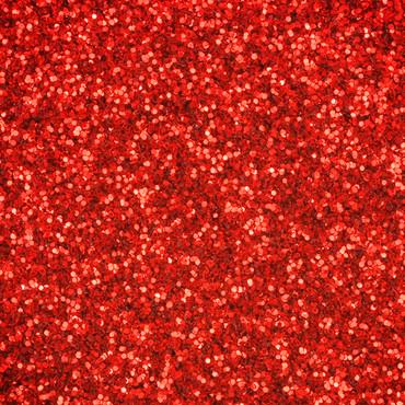 SiLiglit Grade II Polyesterglitter Apfelrot