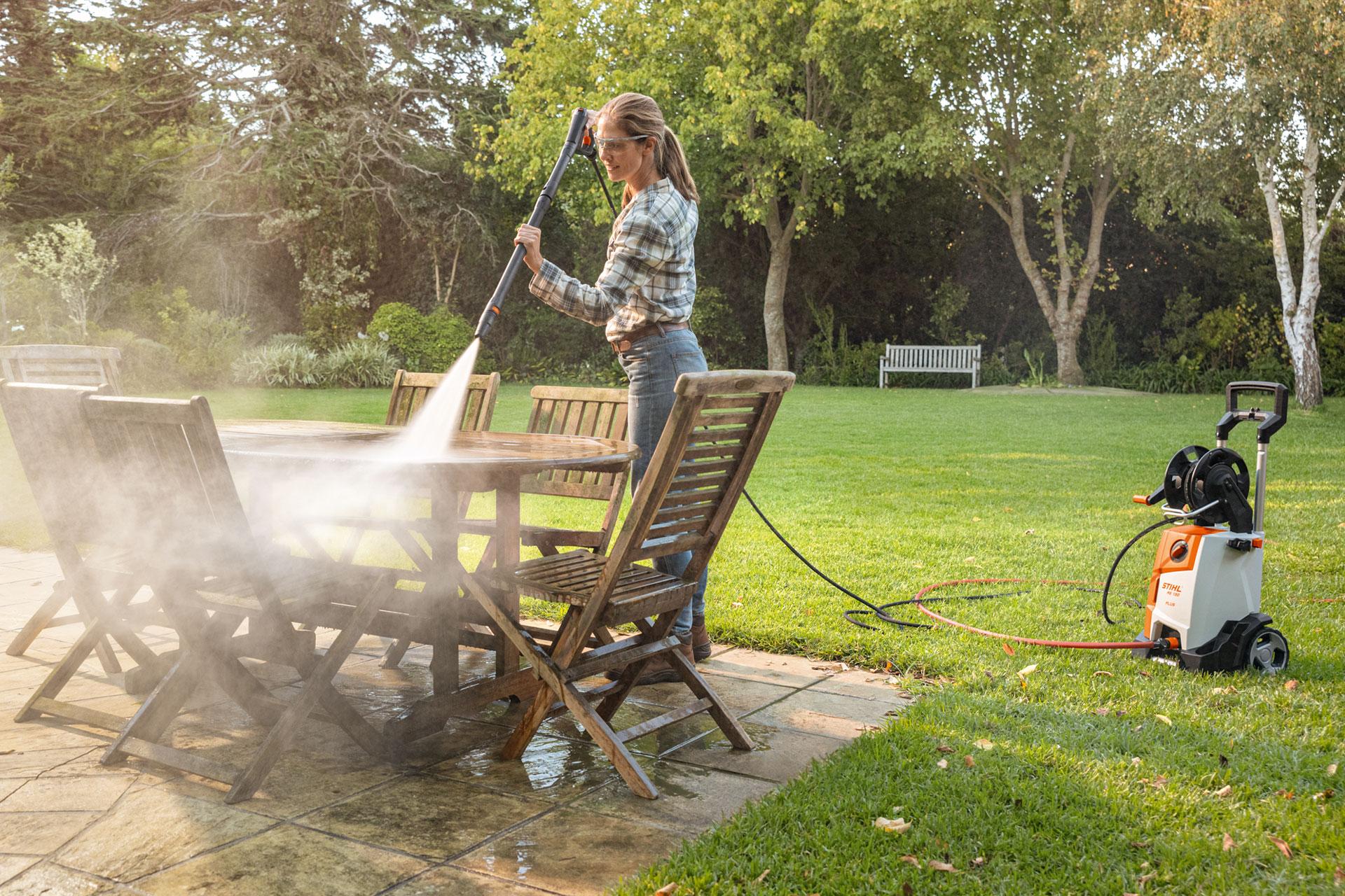 Reinigen mit Hochdruck - wir haben die passende Technik