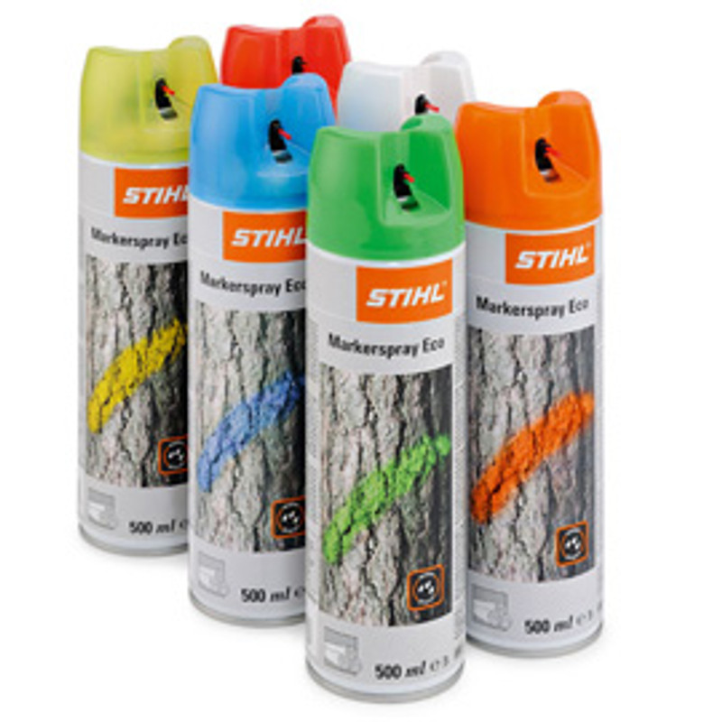 Marker-Spray Eco, 500ml, weiß