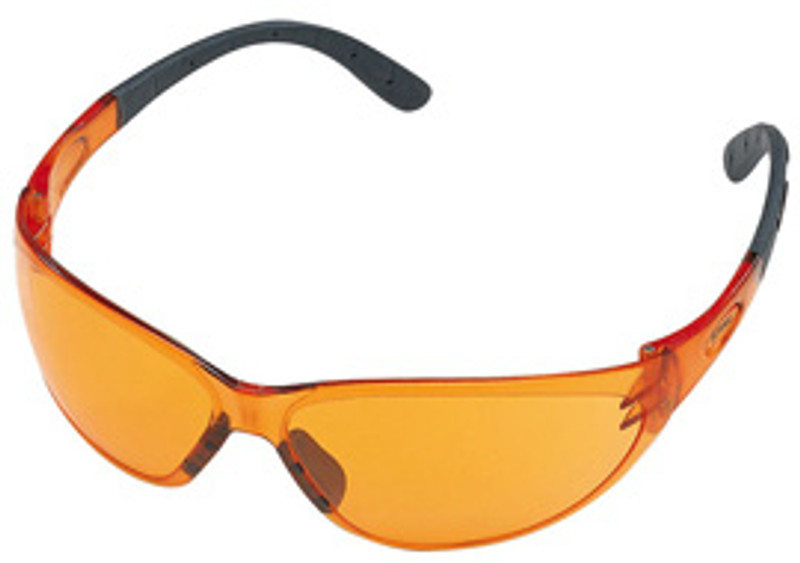 Contrast, Schutzbrille In starkem Orange