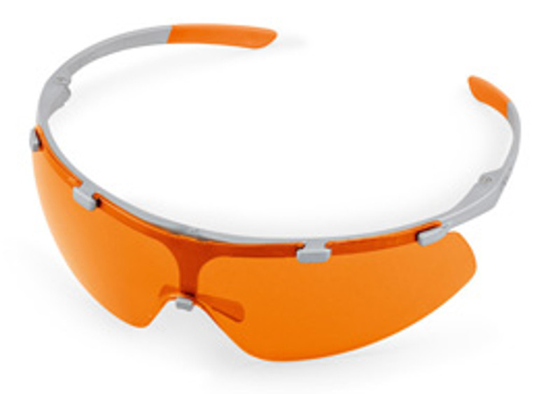 SUPER FIT, Schutzbrille in orange