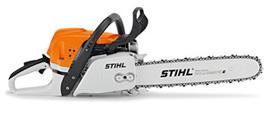 STIHL Benzin-Motorsäge MS 391, Schienenlänge 37 cm – Bild 2