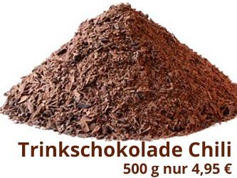 Trinkschokolade Chili