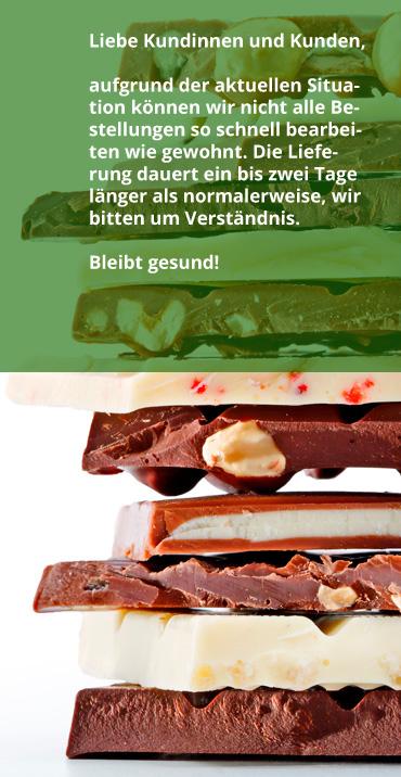 Probiersets Schokolade