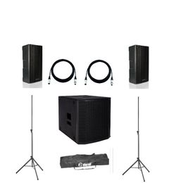 dB Technologies B-Hype 8 + Sub 615  + Kabel und Stative Set günstig online kaufen