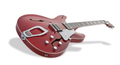 Hagstrom Super Viking 04 wild cherry transparent flame Halbakustische Gitarre hollowbody