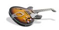 Hagstrom Super Viking 18 tobacco sunburst Halbakustische Gitarre