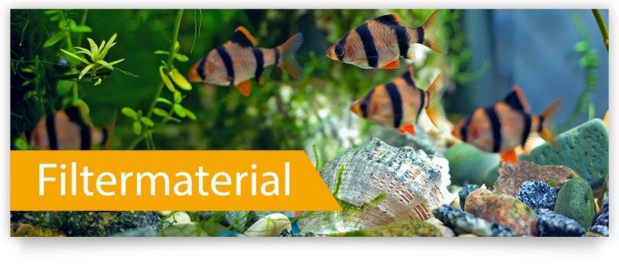 Filtermaterial für Ihr Aquarium jetzt bei Zoofux.de