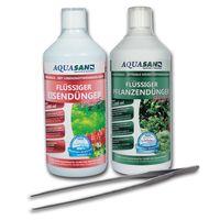 AQUASAN Pflanzenpflege-SET PLUS 1.000 ml + GRATIS Pflanzen-Pinzette