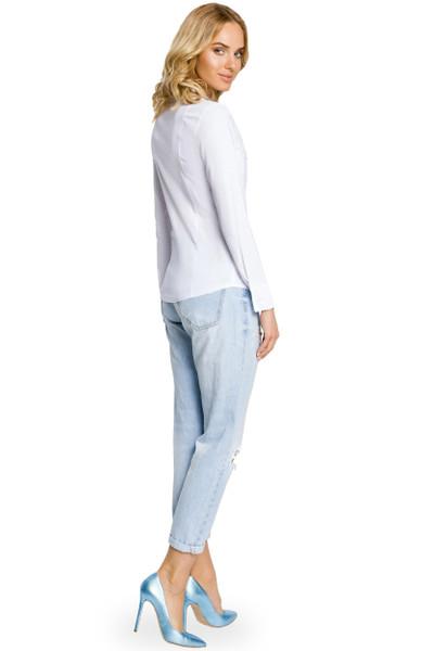 Clea Klassisches Hemd Elegantes Hemd lange Ärmeln ungemustert Kragen viele Farben