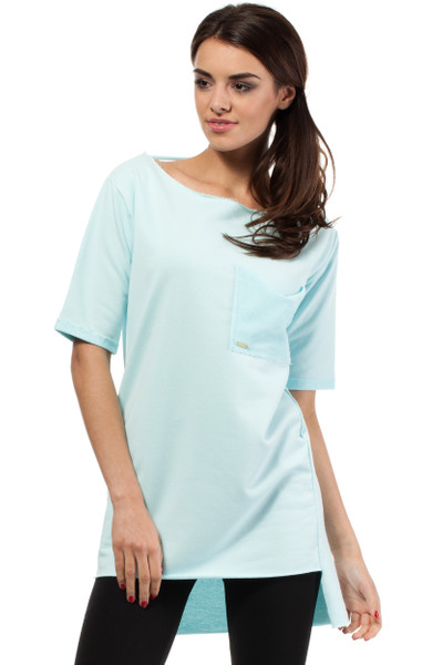 Clea Sporttunika - Bluse Longtop mit großer Tasche