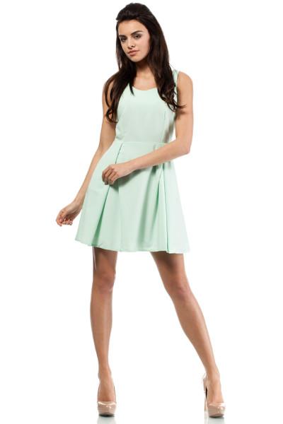 Clea Sommerkleid Kellerfalte Kleid Pastellfarben Sommer Cocktail