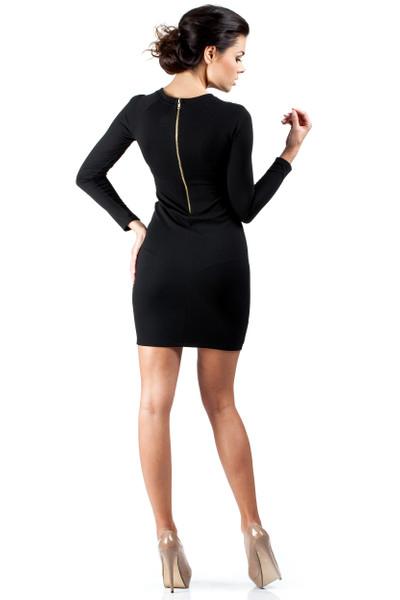 Clea Schickvolles und sehr elegantes Strickkleid mit langen Ärmeln