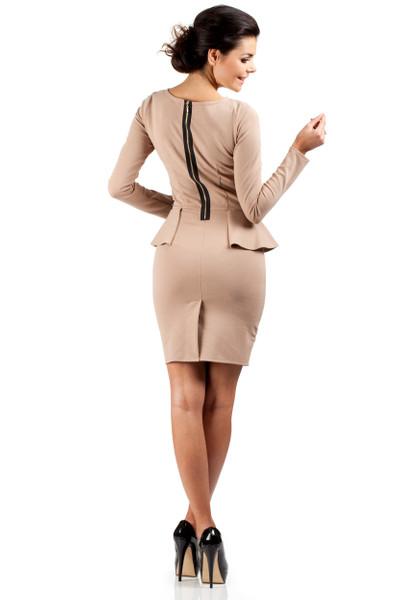 Clea Kleid, Einsatz, Elegant, Bleistiftkleid, Reißverschluss, moderner Schnitt