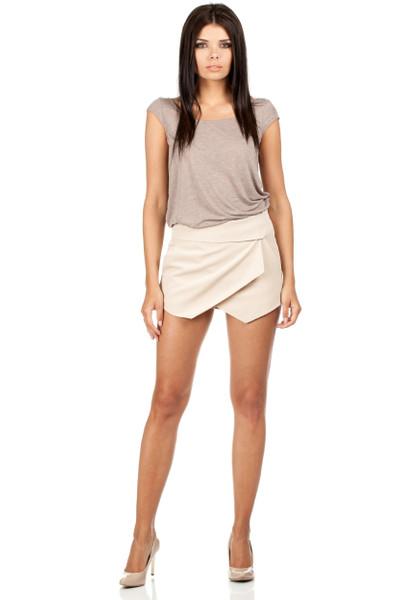 Clea Kurze Hose mit Einschlag
