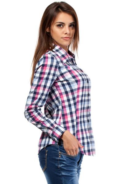 Clea Klassisches Hemd kariertes Hemd