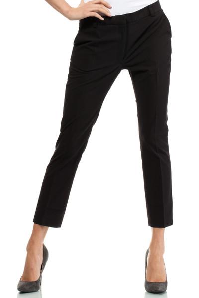 Clea Klassische elegante Hose mit Bügelfalte 7/8 Länge