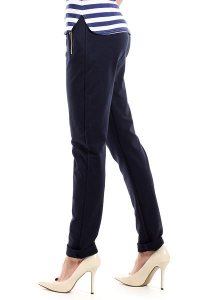 Clea Weiche Hose mit elastischem Bund