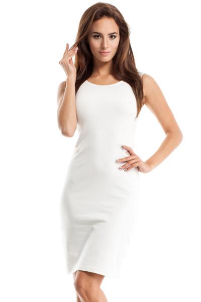 Clea Tuba-Kleid mit Tülleinsätze
