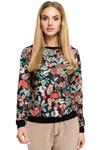 Clea Gemusterte Bluse mit Aufdruck Muster  001