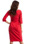 Clea Etuikleid Kleid mit Falten