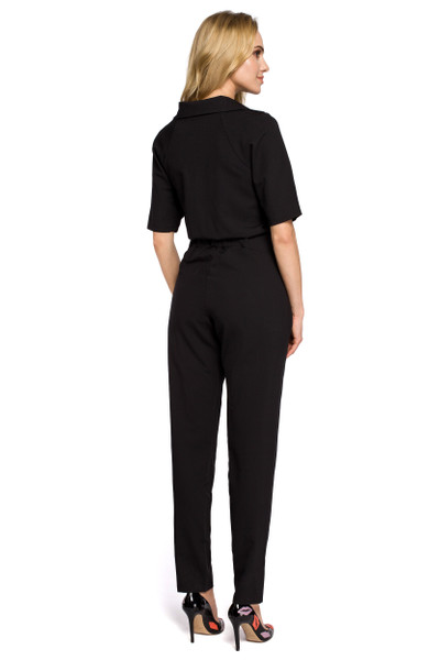 Clea Overall Jumpsuit mit Reißverschluss vorne