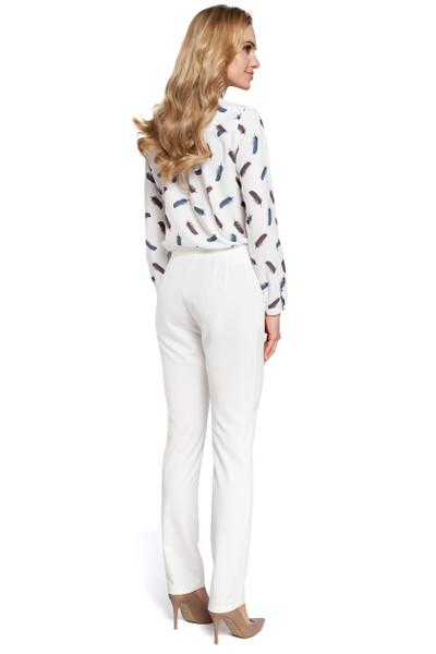 Clea Hose mit einfachen Hosenbeinen und Taschen
