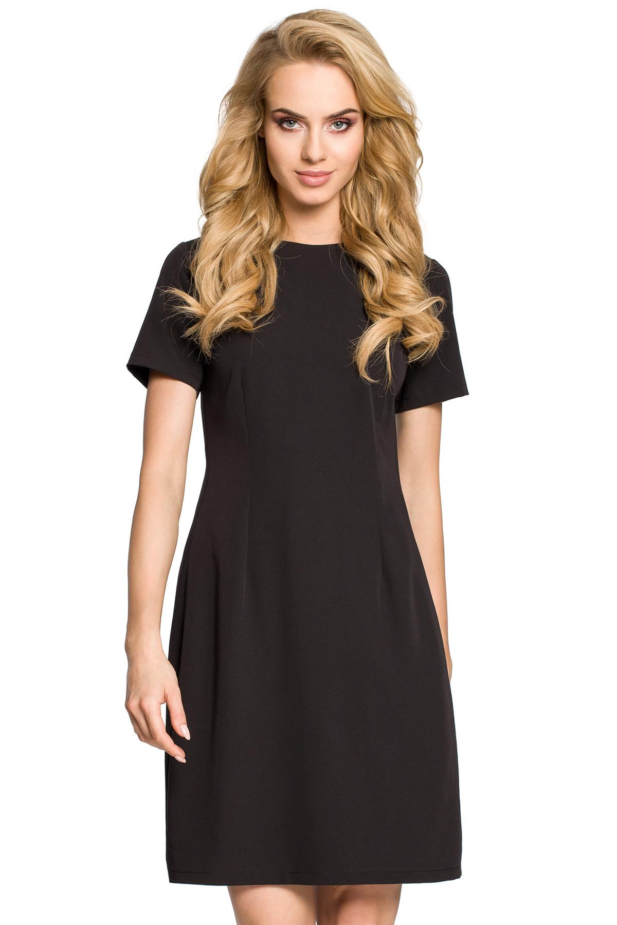 Clea Trapezförmiges Kleid mit Kellerfalte am Rücken Damen Kleider ...
