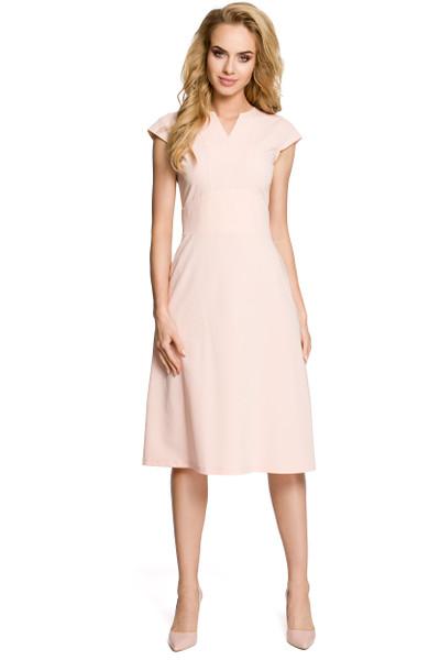 Clea Kleid mit einem breiten Gürtel