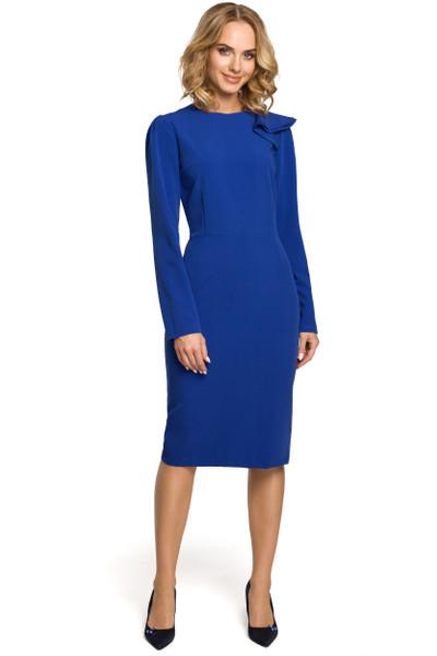 Clea Kleid mit Rüsche am Arm