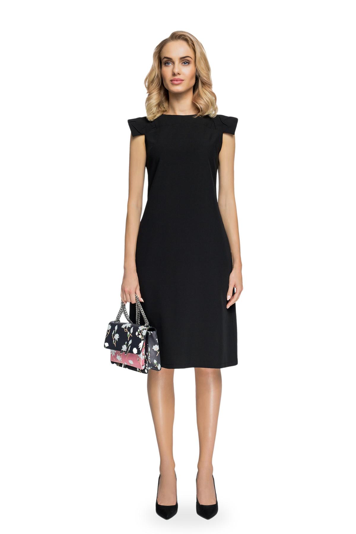 Clea A-Linie Kleid mit Schulter Plättchen Damen Kleider Abendkleider