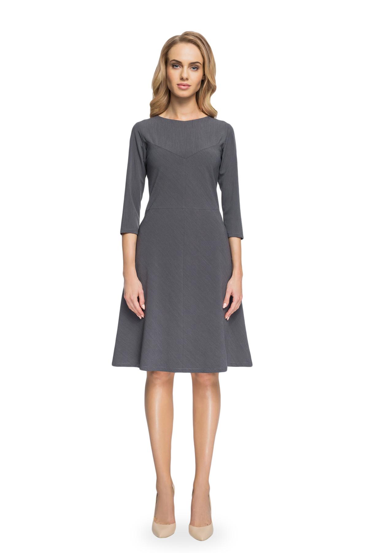 Clea Elegantes Trapezkleid A-Linien Kleid Damen Kleider Abendkleider