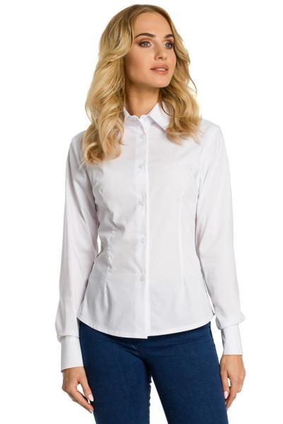 Clea Traditionelles Hemd mit Schmuckborte