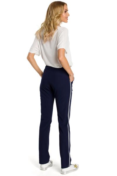 Clea Enge Hose mit einem elastischen Gürtel