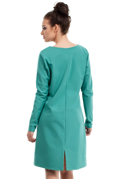 Clea Asymmetrisches Kleid in A-Fasson