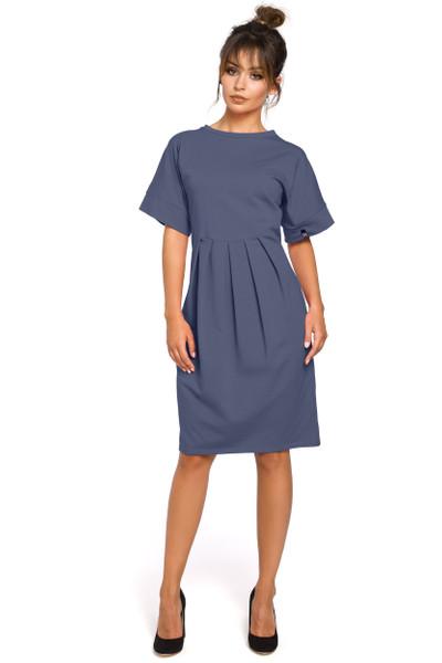 Clea Kleid mit Einschlägen
