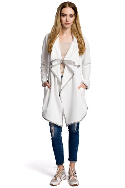 Clea Gestrickter Oversize-Blazer mit Schlappkragen