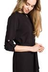 Clea Smokinghemd mit Gürtel