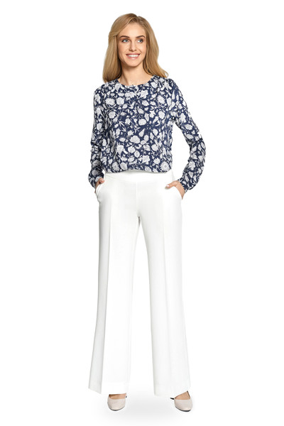 Clea Bluse mit Muster