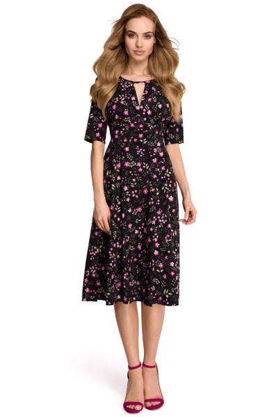 Clea Luftiges Kleid mit kleinen Blumen
