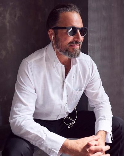 NEU:  Monza - Hemd in weiß mit Reißverschluss und Brusttasche – Bild 2