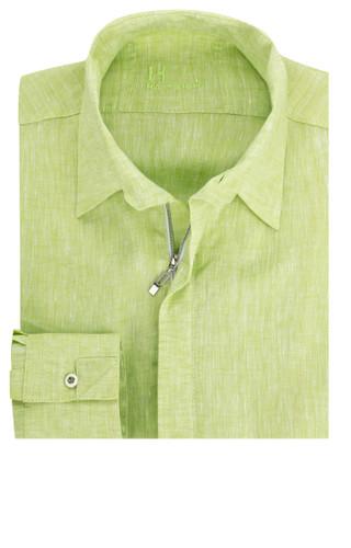 Trimix - Reißverschluss-Hemd apfelgrün – Bild 3