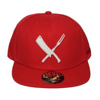 Yakuza Premium Basecap 2163 red Snapback 001