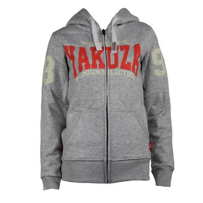 Yakuza Premium Women Sweatjacket GHZ 2048 light grey – Bild 1