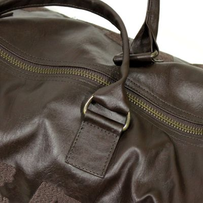 Yakuza Premium sports bag dark brown – Bild 3