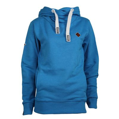 GOODNESS Damen Sweatshirt Carry blau – Bild 1