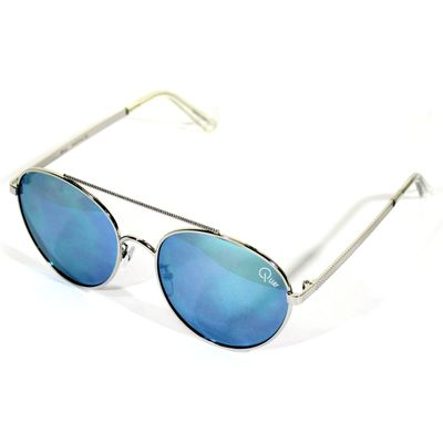 Quay Australia Damen Sonnenbrille CIRCUS LIFE silver – Bild 1