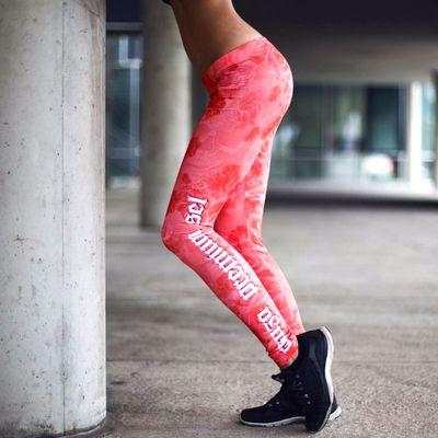 Yakuza Premium Damen Leggings GL 2271 rosa – Bild 5