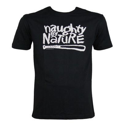 Amplified Herren T-Shirt NAUGHTY BY NATURE black – Bild 1