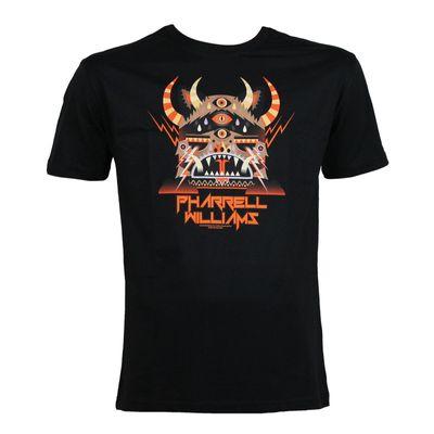 Amplified Herren T-Shirt PHARRELL 3 MONSTER black – Bild 1